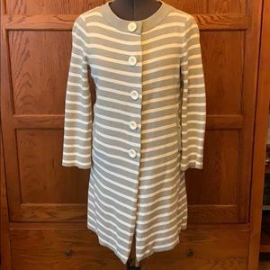Liz Claiborne long sweater, sz SP